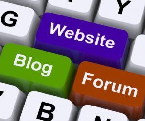Website, blog, forum