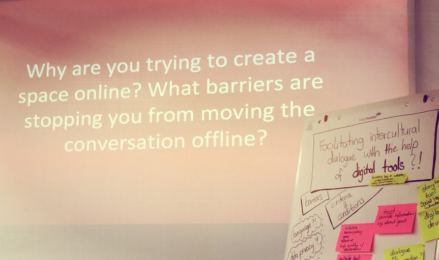 Kulttuurienvälistä (verkko)dialogia etsimässä